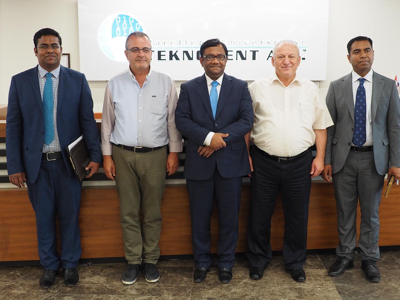 Bangladeş Büyükelçisi Sn. M. Allama Siddiki Teknokentimizi Ziyaret Etti