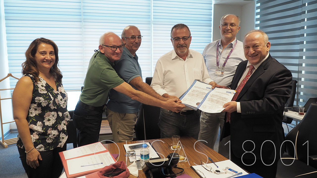 Hacettepe Teknokent was Awarded an OHSAS 18001 Certificate