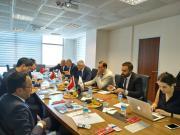 Özbekistan heyeti Hacettepe Teknokent